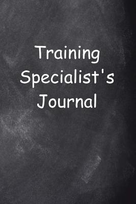 Training Specialist's Journal Chalkboard Design