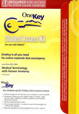 Medical Terminlolgy with Human Anatomy Student Access Code