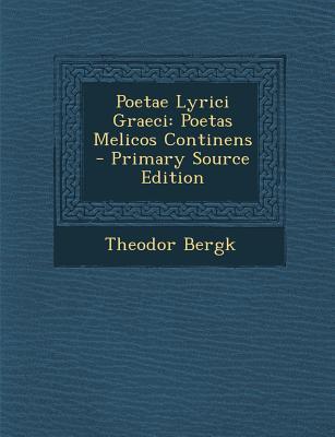 Poetae Lyrici Graeci