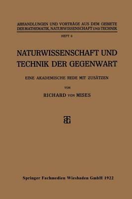 Naturwissenschaft Und Technik Der Gegenwart
