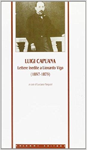 Lettere Inedite a Lionardo Vigo