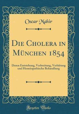 Die Cholera in München 1854