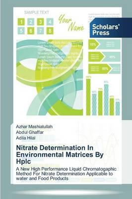 Nitrate Determination In Environmental Matrices By Hplc