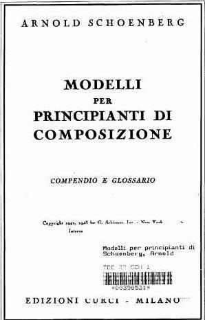 Modelli per principianti di composizione