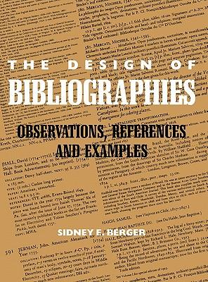 The Design of Bibliographies