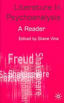 Literature in Psychoanalysis