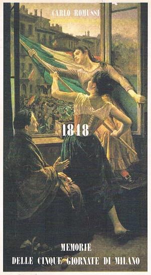 1848 Memorie delle cinque giornate di Milano
