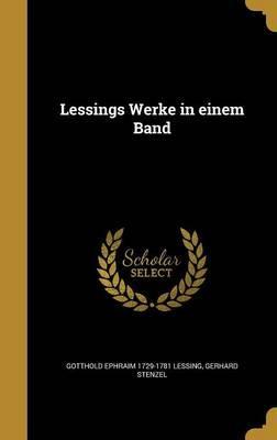 Lessings Werke in Einem Band