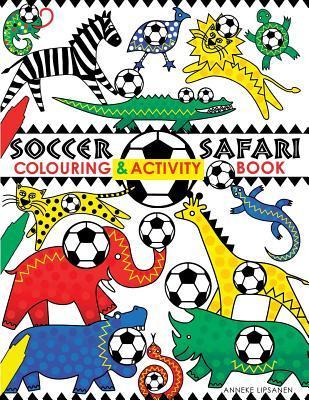 Soccer Safari Colouring and Craft Book