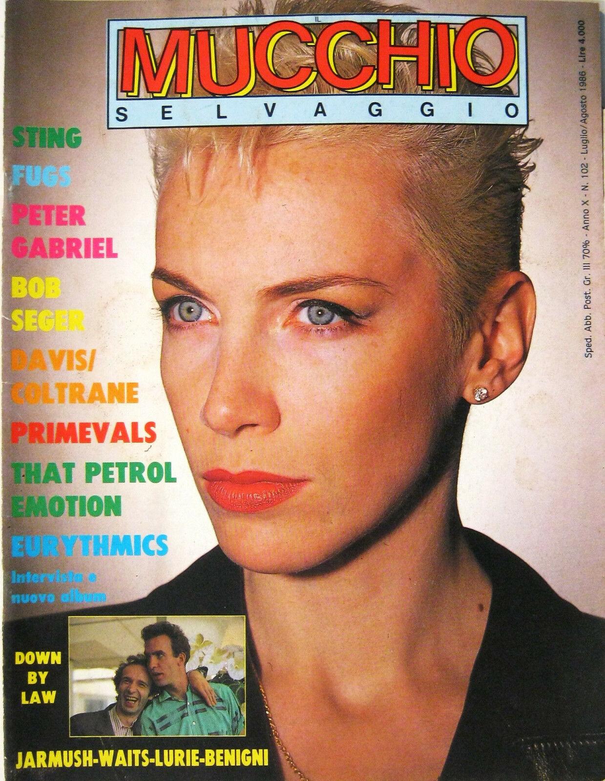 Mucchio selvaggio n. 102 (luglio-agosto 1986)