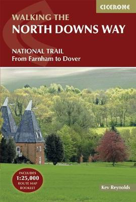 The North Downs Way National Trail from Farnham to Dover (Guidebook & OS Map Booklet)