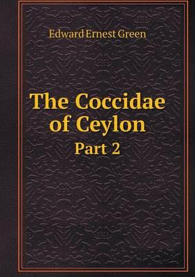 The Coccidae of Ceylon Part 2