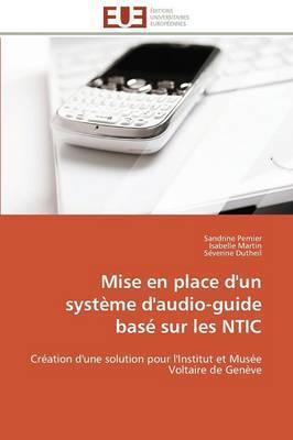 Mise en place d'un système d'audio-guide basé sur les NTIC
