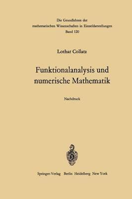 Funktionalanalysis Und Numerische Mathematik