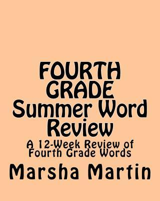 Fourth Grade Summer Word Review