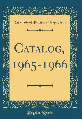 Catalog, 1965-1966 (Classic Reprint)
