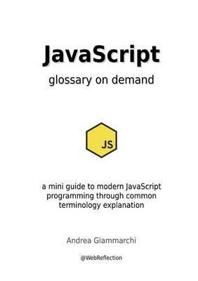 JavaScript glossary on demand