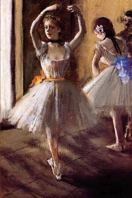 Two Dancers in the Studio Dance School Journal