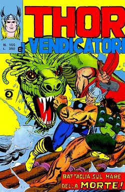 Thor e i Vendicatori (Il Mitico Thor) n. 155