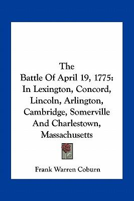 The Battle of April 19, 1775