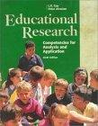 Educational Research:Competencies for Analysis and Applications