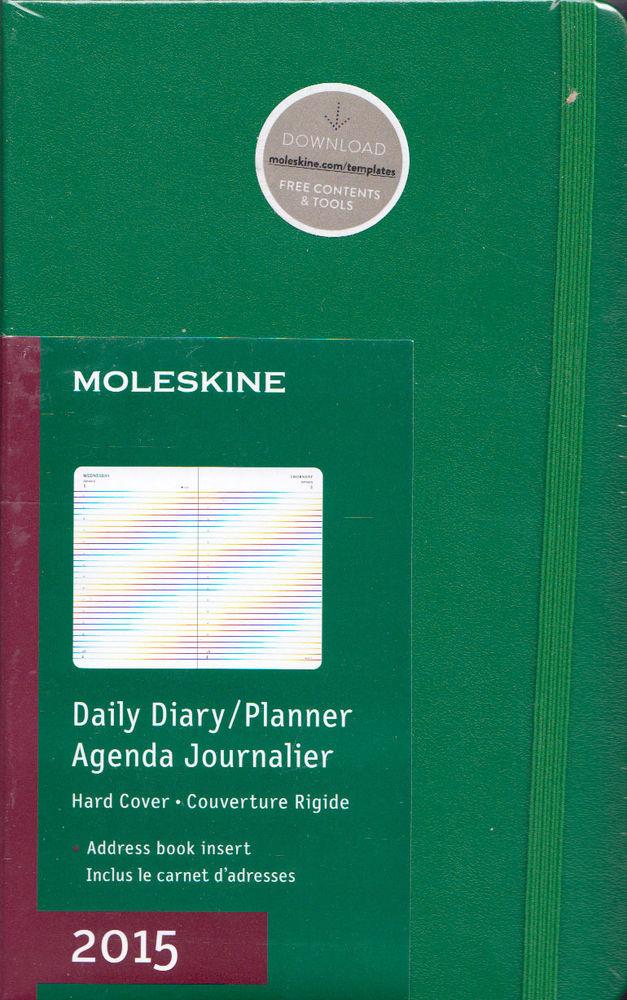 Moleskine Agenda Giornaliera 2015