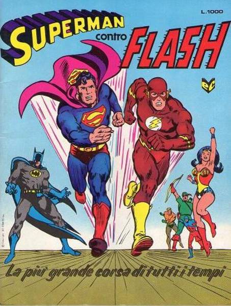 Superman contro Flas...