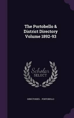 The Portobello & District Directory Volume 1892-93