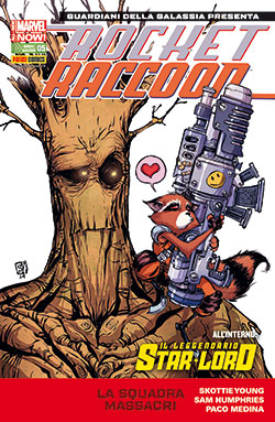 Rocket Raccoon & Il Leggendario Star-Lord #5