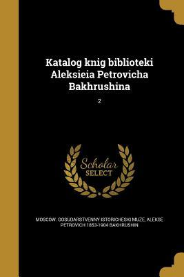 RUS-KATALOG KNIG BIBLIOTEKI AL
