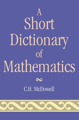 Short Dictionary of Mathematicpb
