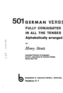 501 German verbs fully conjugated in all the tenses