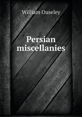 Persian Miscellanies