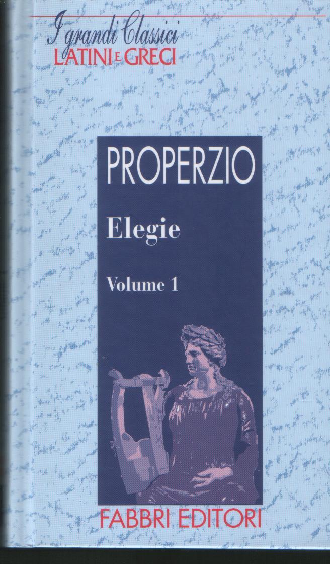 Elegie vol.1