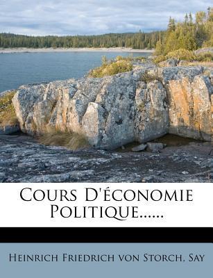 Cours D'Economie Politique......