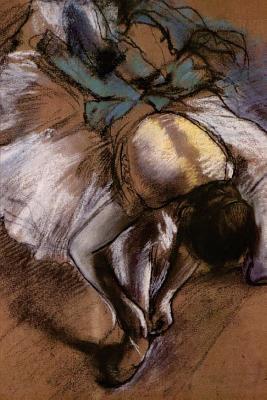 Dancer Adjusting Her Slipper by Edgar Degas 1885 Journal