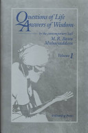 Questions of Life - Answers of Wisdom, Vol. 1