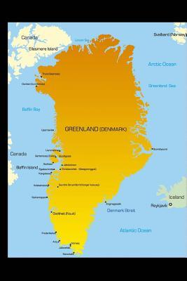 Map of Greenland Journal