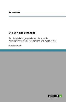 Die Berliner Schnauze
