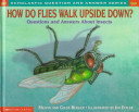 How do flies walk up...