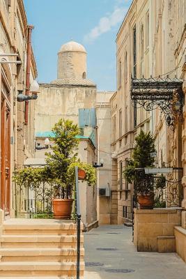 Narrow Alley in Baku Azerbaijan Journal