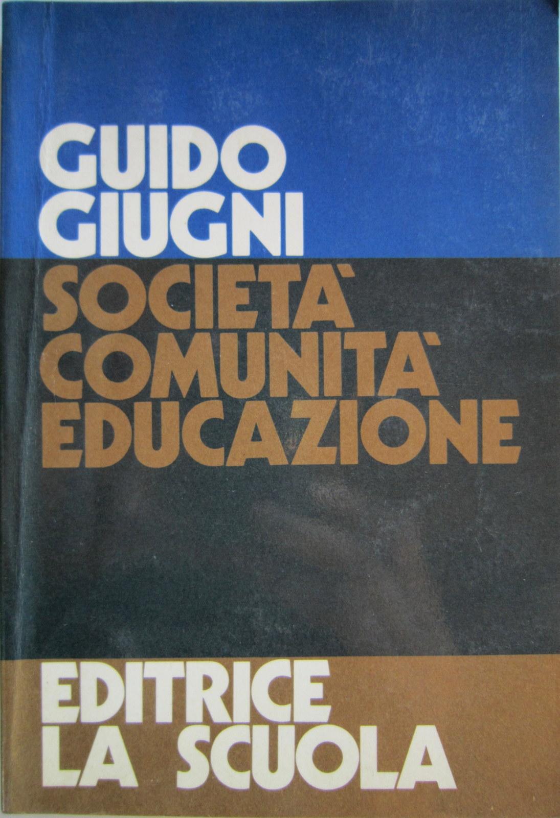 Società, comunità, educazione