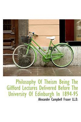 Philosophy of Theism...