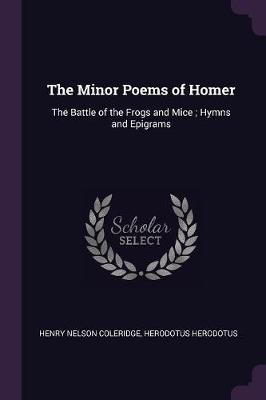 The Minor Poems of Homer