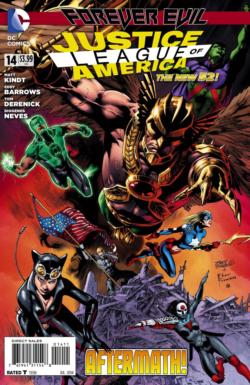 Justice League of America Vol.3 #14