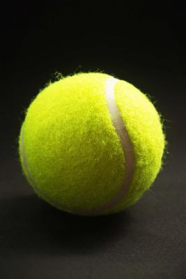 A Yellow Tennis Ball Journal