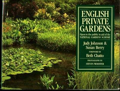 English Private Gardens