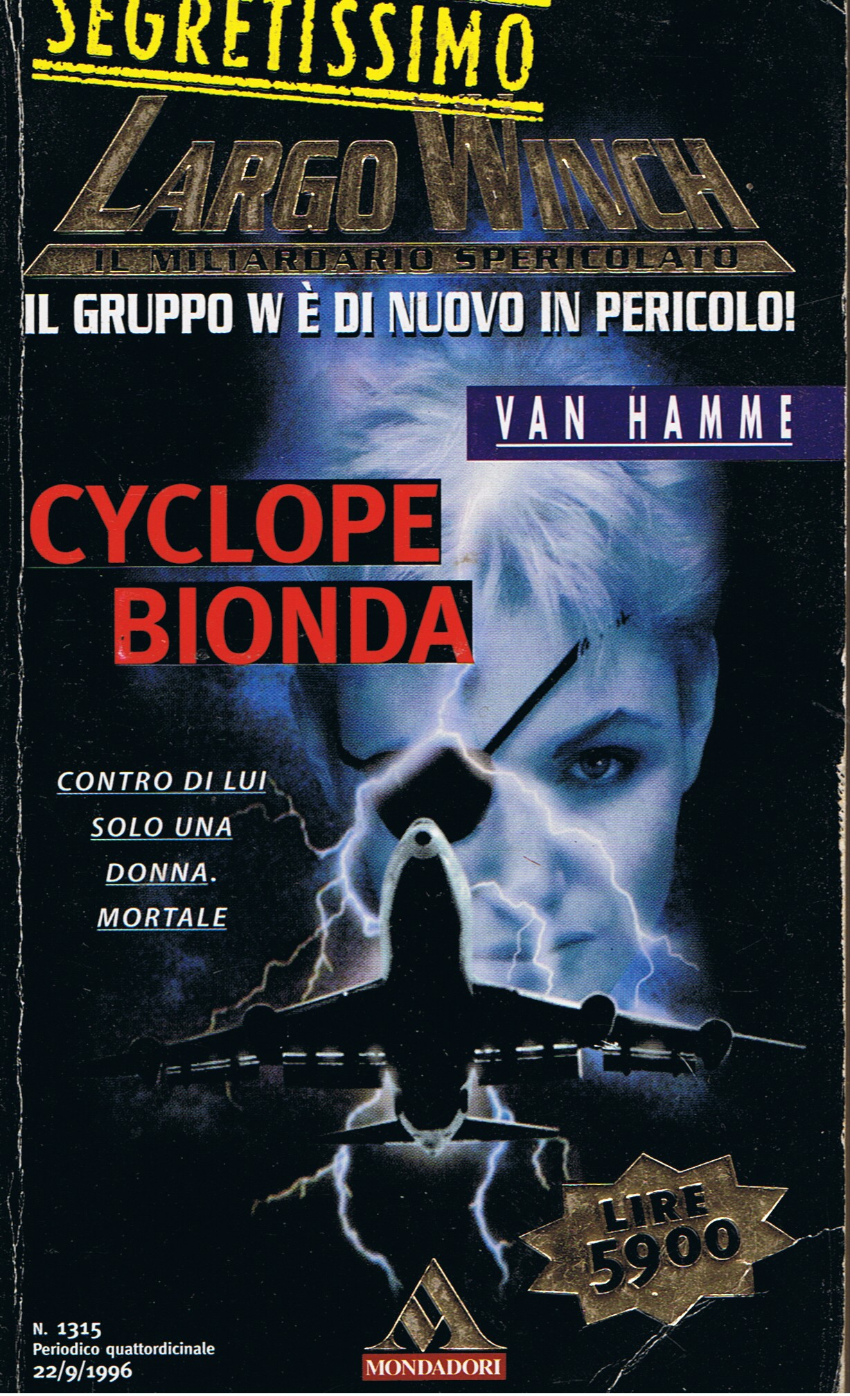 Largo Winch: Cyclope bionda