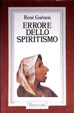Errore dello spiritismo