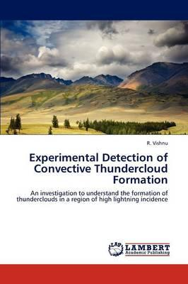 Experimental Detection of Convective Thundercloud Formation